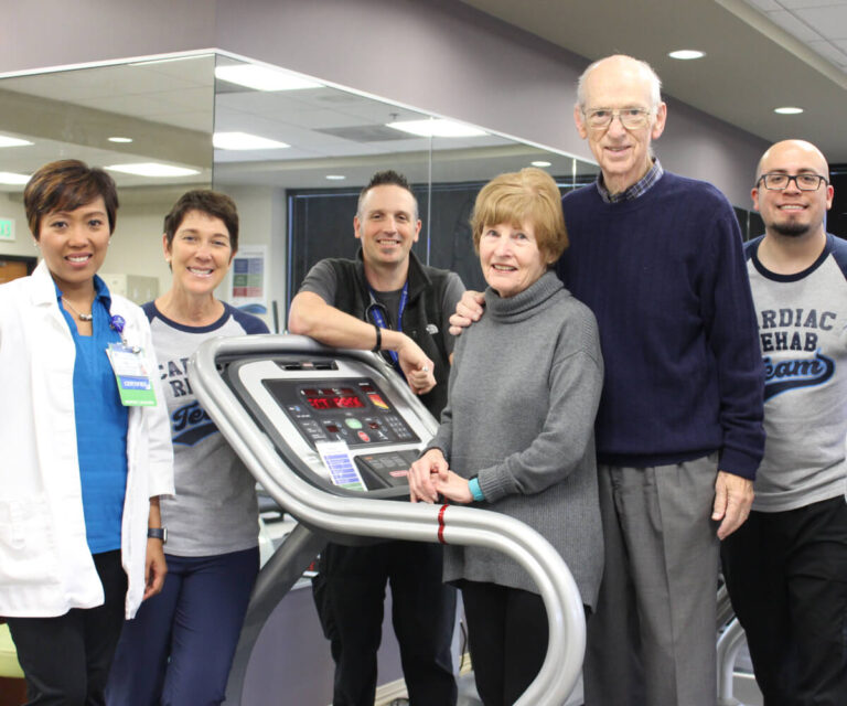 The patients & staff of Cardiac Rehab thank you